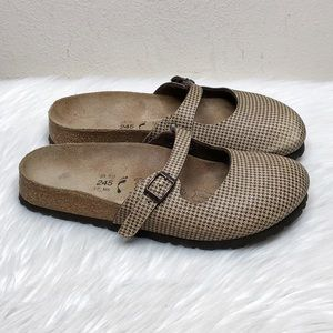 Birkenstock Birki's Mary Jane Slip On Sandals Sz 7